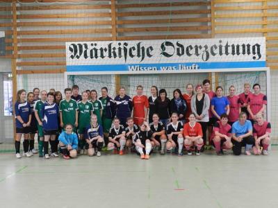 Vorschaubild zur Meldung: Frauenteam in Borgsdorf