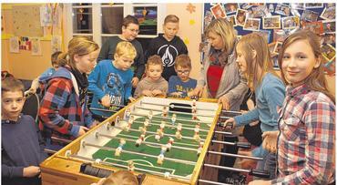 Foto zur Meldung: Groß Laasch - Stark besuchter Kindertreff