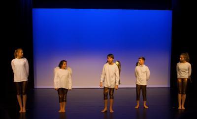 Vorschaubild zur Meldung: Schauspielunterricht im neuen Theater – erste Unterrichtsstunden am 11. Und 12. Januar