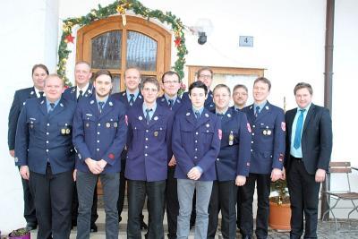 Foto zu Meldung: Die FFW Ruhmannsdorf wählt eine neue Vorstandschaft und einen neuen Kommandanten