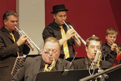 Foto zu Meldung: Lulu Big Band begeisterte das Publikum