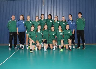 Foto zur Meldung: Landesauswahl 99 der Mädchen mit Platz 2 zum Deutschen Länderpokal 2016