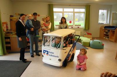 Foto zur Meldung: Die Pohnsdorfer Spielstube e.V. ist jetzt noch mobiler!
