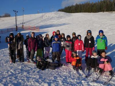 Foto zur Meldung: Unser Skilager 2016 mit der 5. Klasse