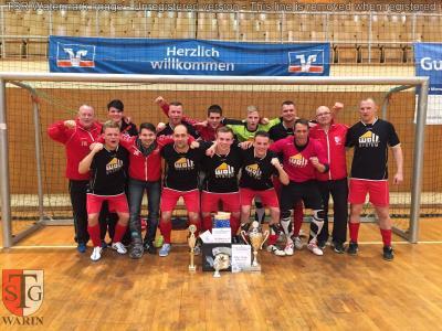 Foto zu Meldung: + + + TSG Warin gewinnt VR-Cup in Wismar + + +