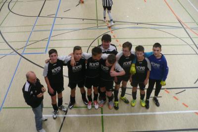 Foto zur Meldung: C-Jugend ebenfalls in Löbauer Halle dabei