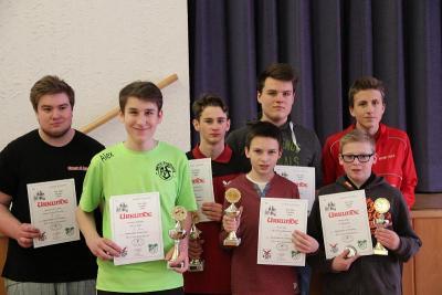 Foto zur Meldung: Tischtennis - Neujahr Turnier