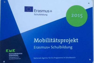 Foto zur Meldung: Erasmus+    jetzt endlich auch an der IGS