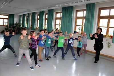 Foto zur Meldung: Selbstbehauptungskurs in der Grundschule