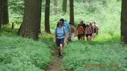 Foto zur Meldung: 10 Jahre Walking - Gruppe