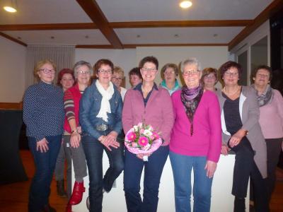 Foto zur Meldung: Frauenchor Schenklengsfeld Jahreshauptversammlung 2016