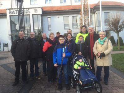 Vorschaubild zur Meldung: Traditionelle Winterwanderung der Fliedener SPD.   13 Teilnehmer pflegten die über 40-jährige alljährliche Tradition