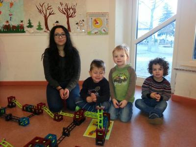 Vorschaubild zur Meldung: Neue Mitarbeiterin im Kindergarten