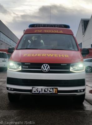 Foto zur Meldung: Neuer Einsatzleitwagen der Feuerwehr Roßla