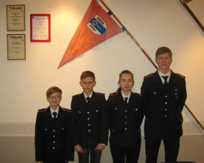 Foto zur Meldung: Jahresrückblick 2015 der Jugendfeuerwehr Pohnsdorf