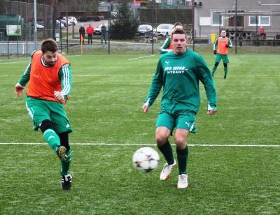 Foto zu Meldung: Testspiel im Trainingslager in Zruc: TJ Dioss Nyrany - FC Vorwärts 0:9 (0:8)