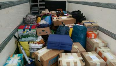 Foto zu Meldung: Spendenaktion für eine Familie aus Lindewitt