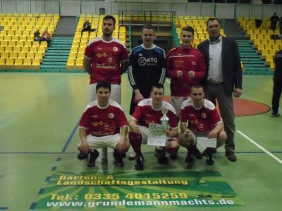 Silber - Team mit Sponsor Michael Grundemann