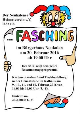 Foto zur Meldung: Fasching im Bürgerhaus Neukalen 2016
