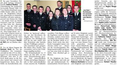 Foto zur Meldung: Jahreshauptversammlung in Mittelrode