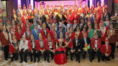 Das Gruppenbild der närrischen Präsidenten des Landes. Fotos: Michael-Güünther Bölsche