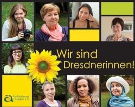 Foto zu Meldung: Wir sind Dresdnerinnen! Ausstellungseröffnung am 8. März