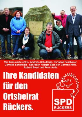 Kandidaten Ortsbeirat Rückers