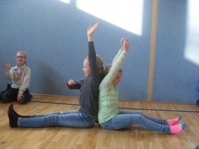 Foto zur Meldung: Rückenschule