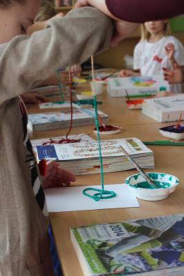 Foto zur Meldung: Mitmachprojekt  - Schulanfänger kreativ im Hort