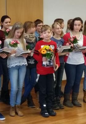 Foto zur Meldung: Jonathan Eichhorn gewinnt Kreislesewettbewerb der Uckermark