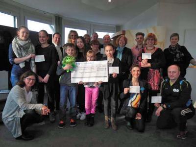 Foto zur Meldung: 3000€ für ein Inklusions-Projekt gewonnen!