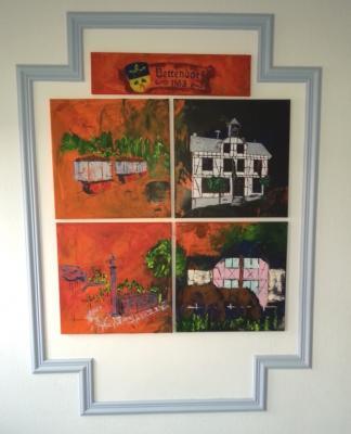Foto zu Meldung: Eventmalerei – Bilder jetzt im Gemeindehaus