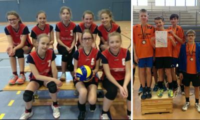 Foto zur Meldung: Jugend trainiert für Olympia - Regionalfinale Volleyball