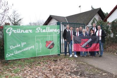 Foto zur Meldung: Bericht RLZ: Sportplatz am Stellweg erhält Kunstrasen!!!