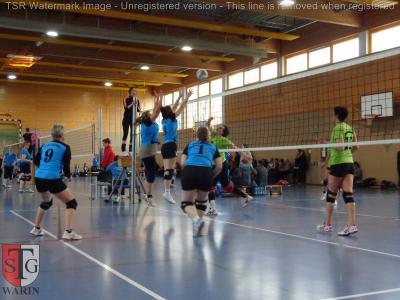 Foto zur Meldung: + + + Volleyball: 9. Spieltag Landesklasse West Frauen + + +