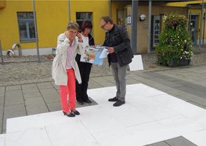 """Foto zur Meldung: Sächsische Zeitung: """"Heidenaus neuer Stadtplan"""""""