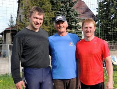 Thomas Lebsa, Gerd Scholz, Jörg Schäfer (v.l.) Foto privat:Gerd Scholz