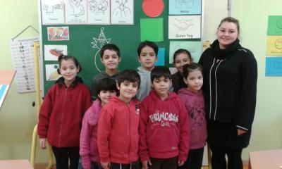 Foto zur Meldung: Unsere neuen Mitschüler!