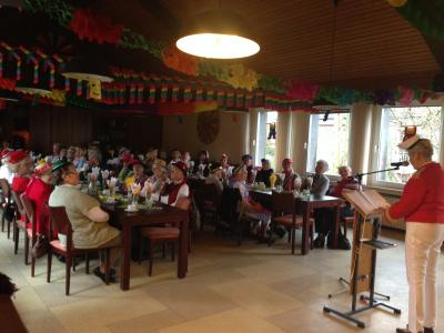 Foto zur Meldung: Seniorenkarneval im Johanneshaus