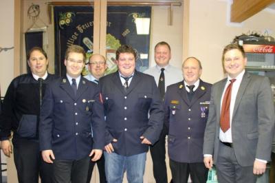 Foto zur Meldung: Die FFW Tresdorf wählte eine neue Vorstandschaft und einen neuen Kommandanten