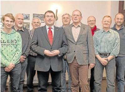Foto zur Meldung: SPD - Ortsverein Burgschwalbach: SPD bestätigt ihren Vorstand