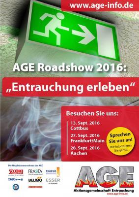 Vorschaubild zur Meldung: Neue AGE Roadshow: Entrauchung erleben