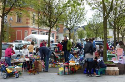Foto zur Meldung: Trödelmarkt im Stadtzentrum für alle