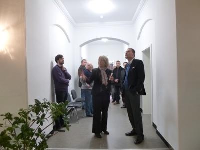 Foto zur Meldung: Besuch des Innenministers Holger Stahlknecht