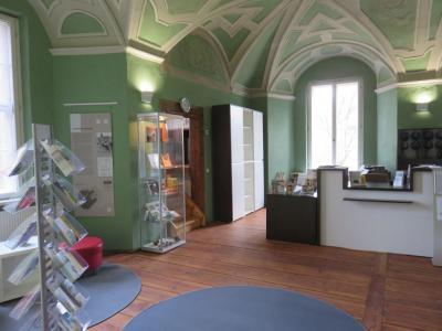 Foto zu Meldung: Neue Besucherinformation im Schloss Freyenstein