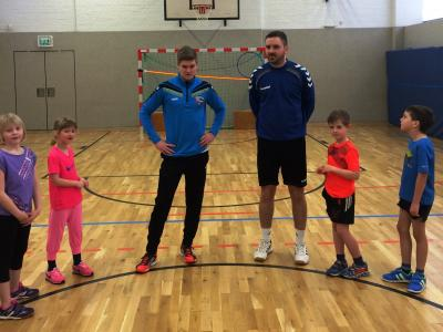 Foto zur Meldung: Handball Kids Nazza