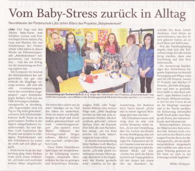 Vorschaubild zur Meldung: Vom Baby-Stress zurück in den Alltag