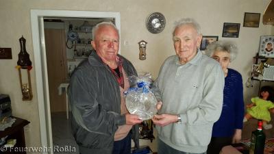 Foto zur Meldung: 65 Jahre im Dienste der Feuerwehr