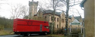 Foto zur Meldung: ARD dreht Fersehfilm im Schloss Reinhardsbrunn