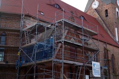 Foto zur Meldung: Sakristei Dachsanierung